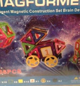 Магнитные конструкторы Magformers.