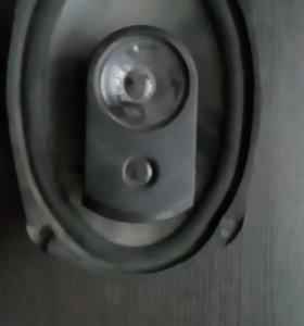 Колонки автомобильные 2блина на 120 ват