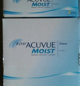 Линзы для глаз Acuvue Moist