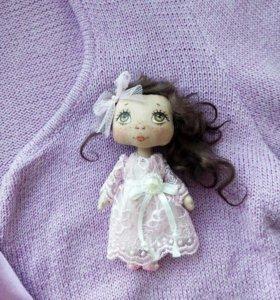 Куколка-брошка(ручной работы)