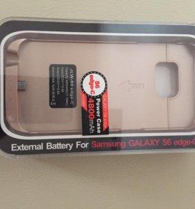 Чехол- аккумулятор для Samsung Galaxy s6 edge