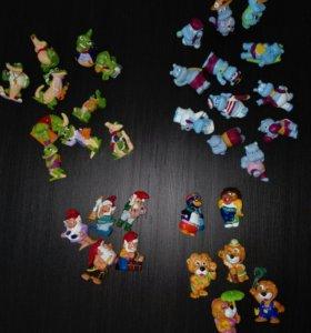 Игрушки из Кinder 90х годов