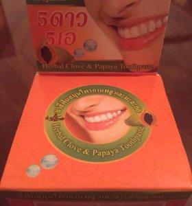 Отбеливающая зубная паста Таиланд Папая 🇹🇭