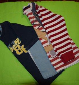 Набор футболок с длинным рукавом