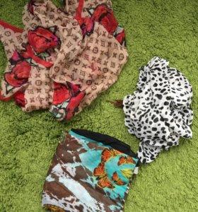 Платки шарфы шали