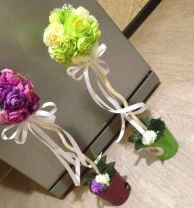 Цветочки подарки