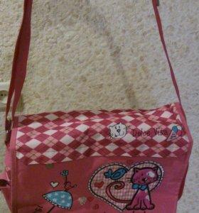 Школьная сумка для девочек.