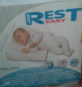 Ортопедическая подушка для детей с рождения