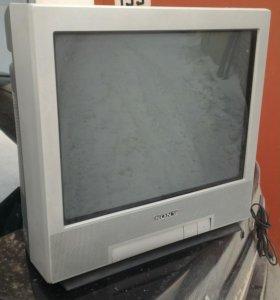 Телевизор. Sony 21 дюйм. Трубка тренитрон
