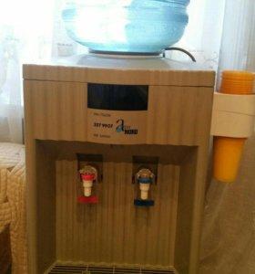 Кулер Daewoo: холодная и горячая вода