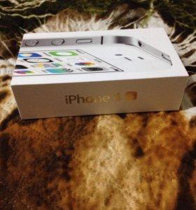 Коробка с айфона 4s