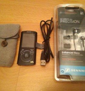 Sony NWZ-E463 +  Sennheiser CX 300 II precision
