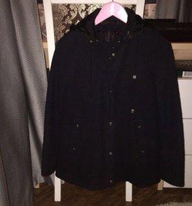 zara пальто-куртка раклешенная