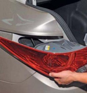 Задняя фара  левая на Hyundai Solaris