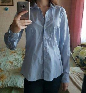 Голубая рубашка H&M