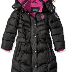 Пальто  U.S . POLO новое !!!