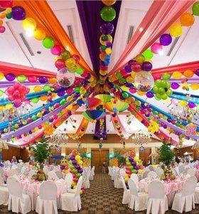 Оформление свадеб и мероприятий