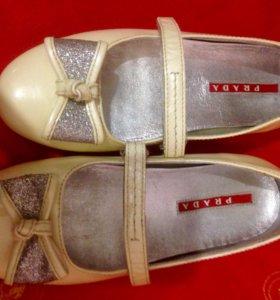Туфли PRADA размер 29