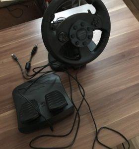 Рулевое колесо для ПК и PlayStation 3+ремонт