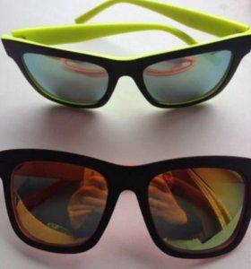 Очки солнцезащитные матовые