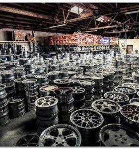 Лето продам б/у шины, диски