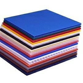 Сотовый пластиковый картон