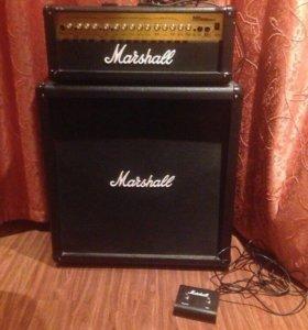 Marshall MG100hdfx гитарный усилитель и кабинет