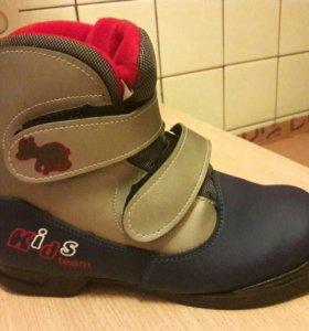Ботинки лыжные, 36 размер.