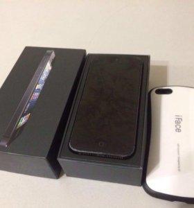 Продам iPhone 5 чёрный
