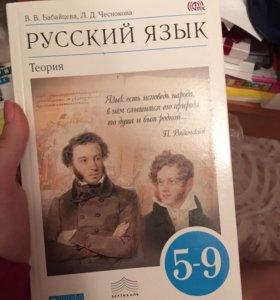 Русский язык теория