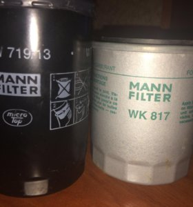 Топливный и масляный фильтра для мерседеса W124
