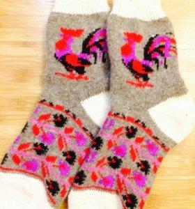 Тёплые носки женские