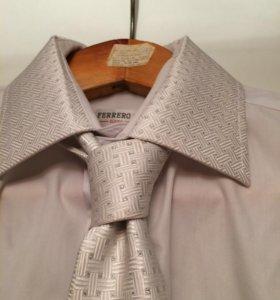 Комплект- рубашка и галстук
