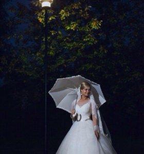 Зонт свадебный аренда