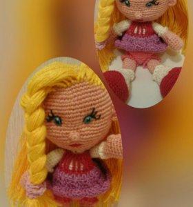 Вязаная кукла под заказ