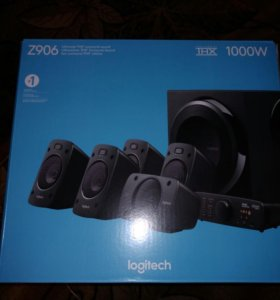 Logitech z 906 hi-fi 5.1