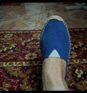 Туфли тапочки мокасины балетки