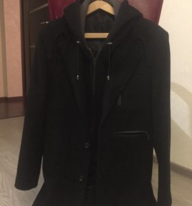 Пальто мужское, демисезонное