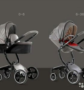 Новая коляска из экокожи vinng ( аналог Mima )
