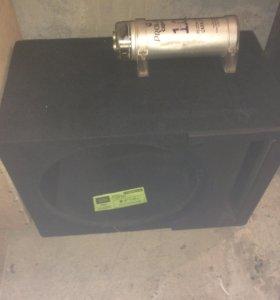 короб на15ку и конденсатор