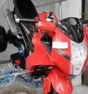 Электромотоциклы, автокресла