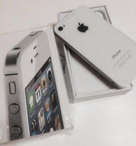 Apple iPhone 4S White Как новый