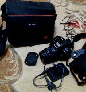 Зеркальный фотоаппарат SONY alpha SLT-A37k