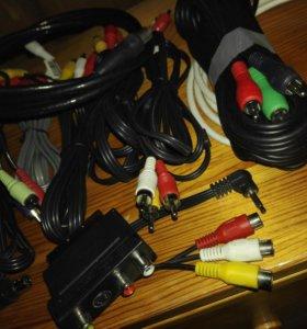 Кабели аудио-видео RCA, Component, Scart, антенные