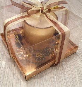 Свеча подарочная
