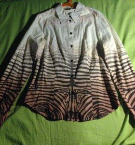 Рубашка с интересным принтом
