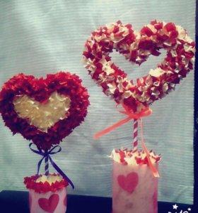 Сердце на День Влюбленных