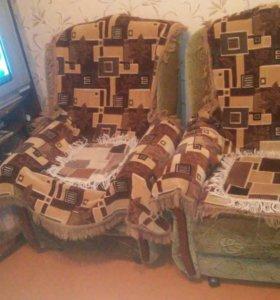 Мягкая мебель, кресло. 2шт.