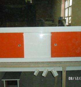 Мебель в ванную комнату, экраны под ванну