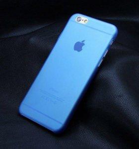 Матовый полупрозрачный чехол iPhone 7 Plus